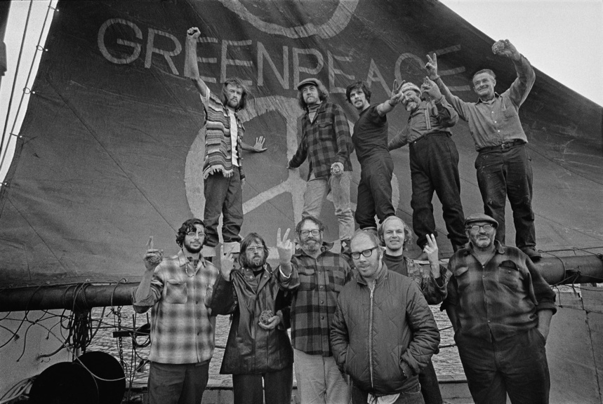 Voyage Documentation (Vancouver to Amchitka: 1971) © Greenpeace / Robert Keziere