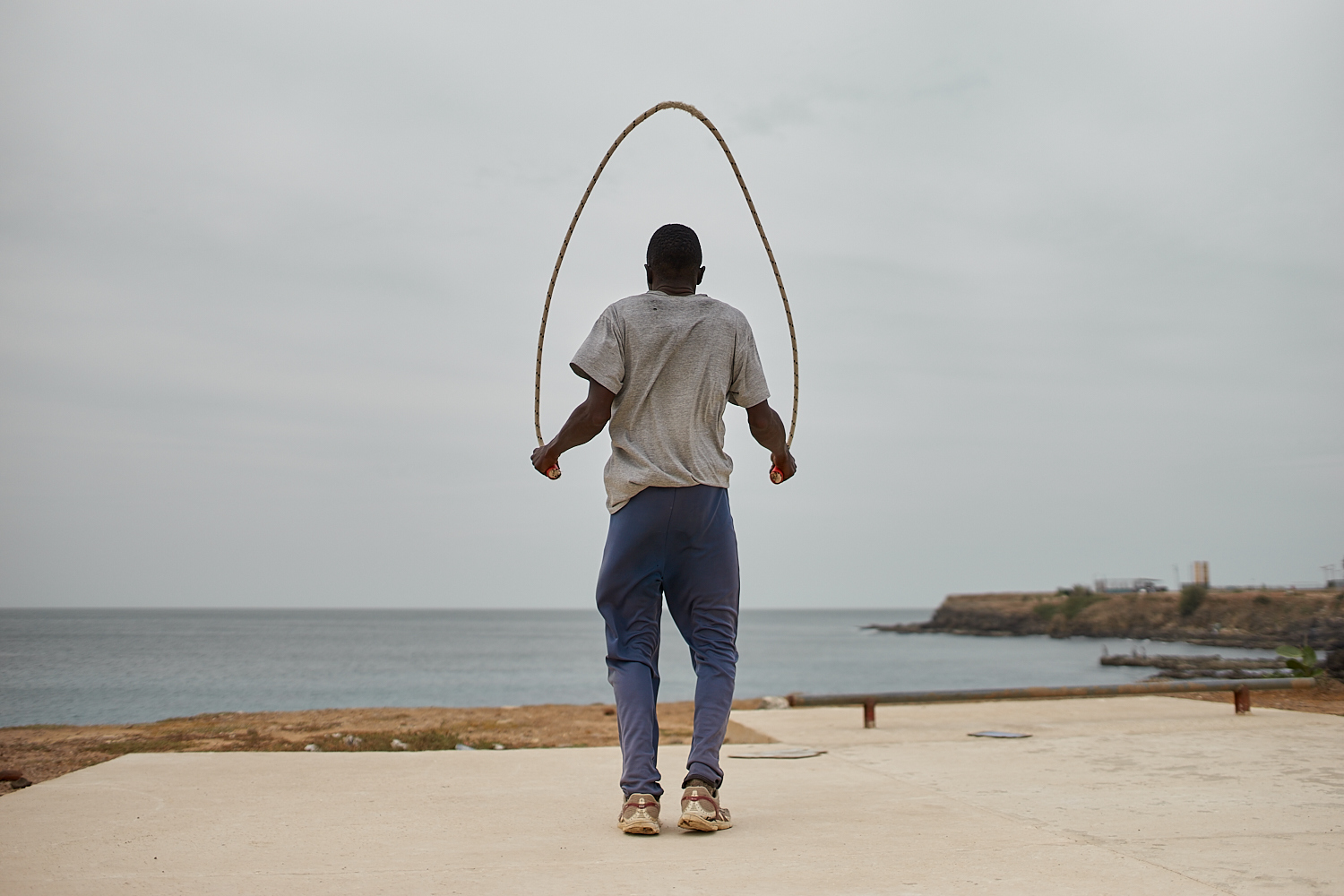 Facing the Ocean, Dakar, SN, 2016