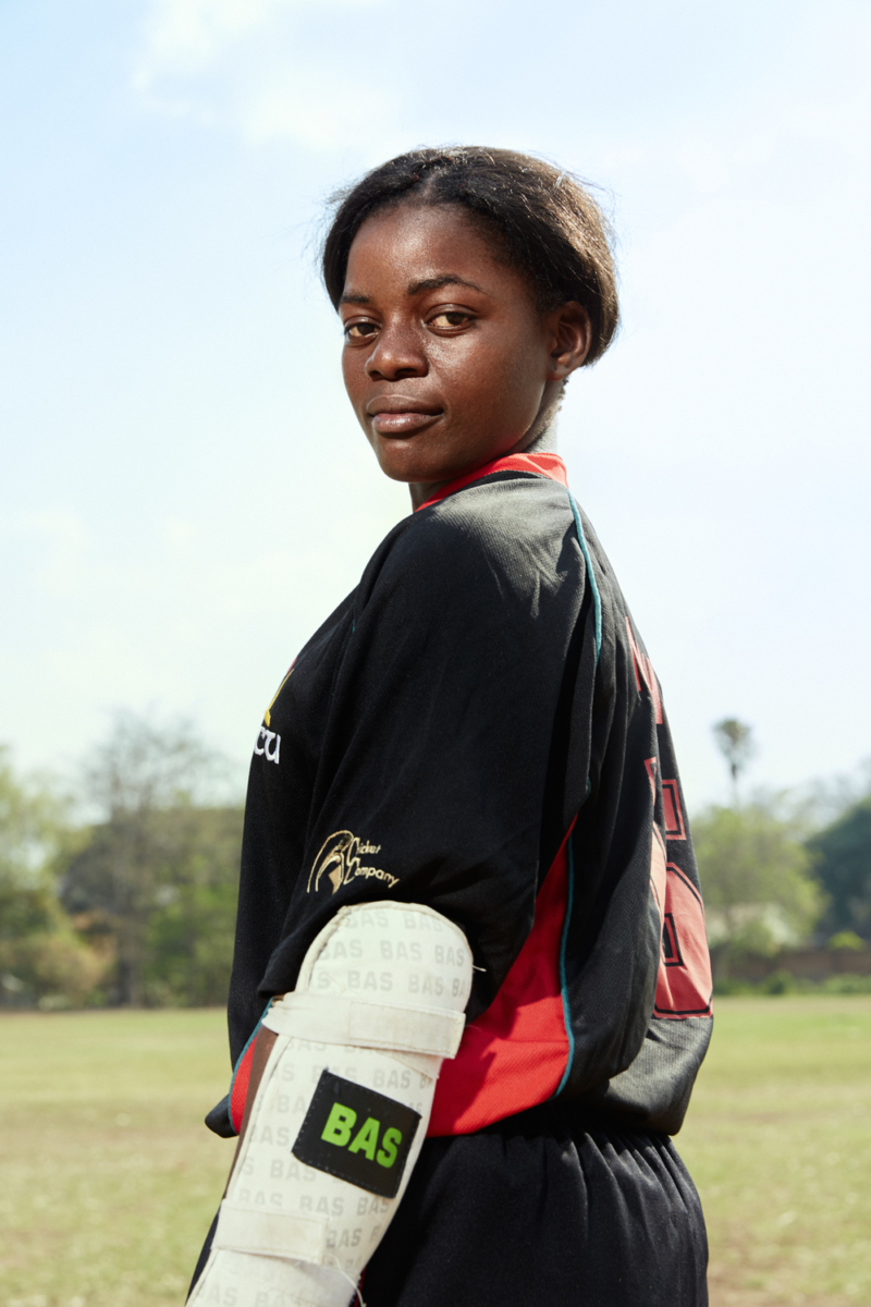 1 Dalitso, bowler/batsman, Malawian Under 19 Women's Cricket Team, St. Andrew's International High School, Blantyre, MW,  2016