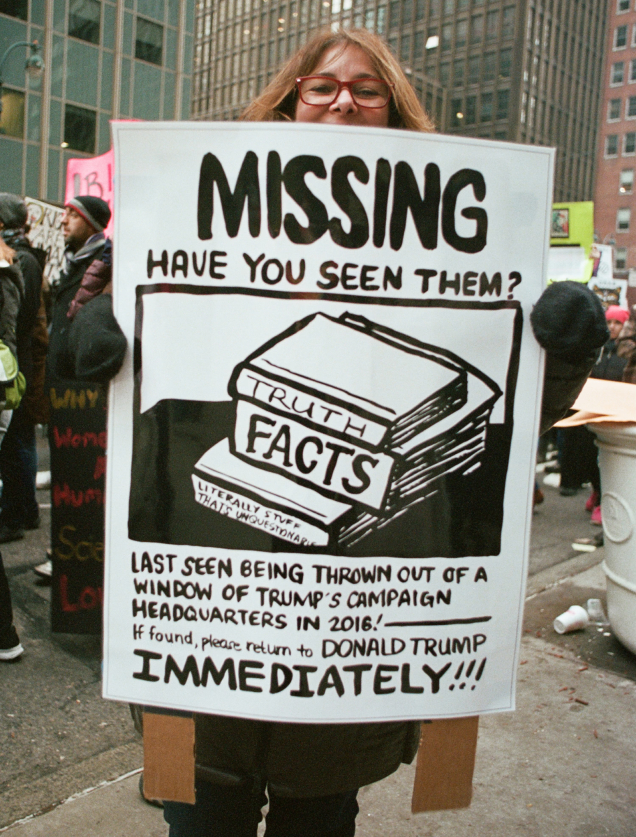1 Missing facts and Truth, Times Square, New York , US  2017