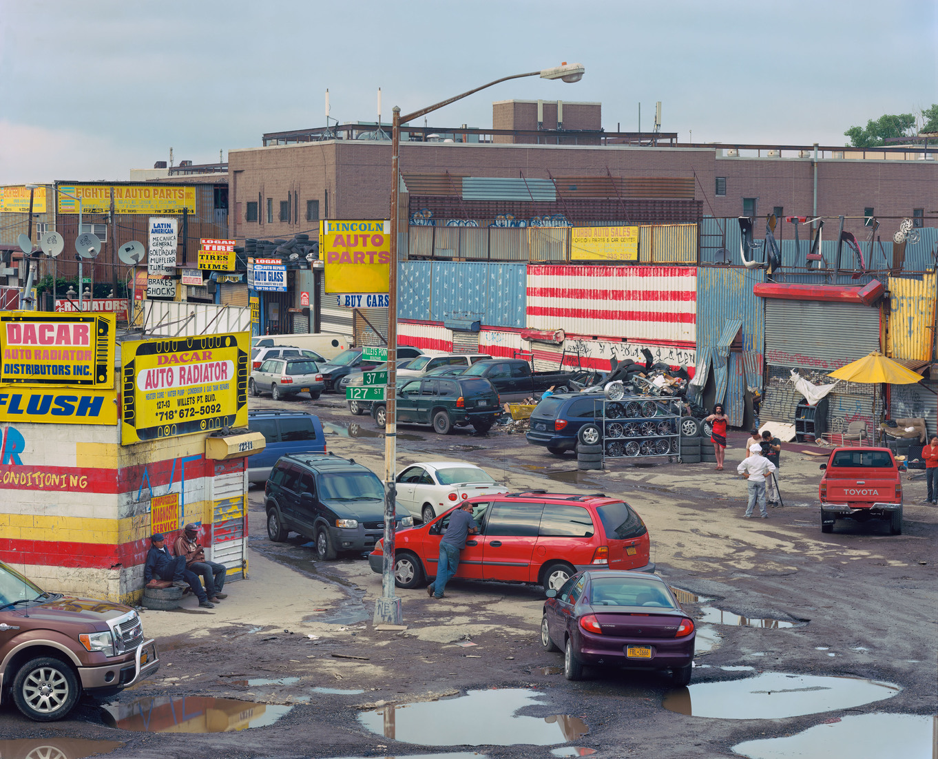 Bearded Lady, Willets Point, New York City, USA, 2014