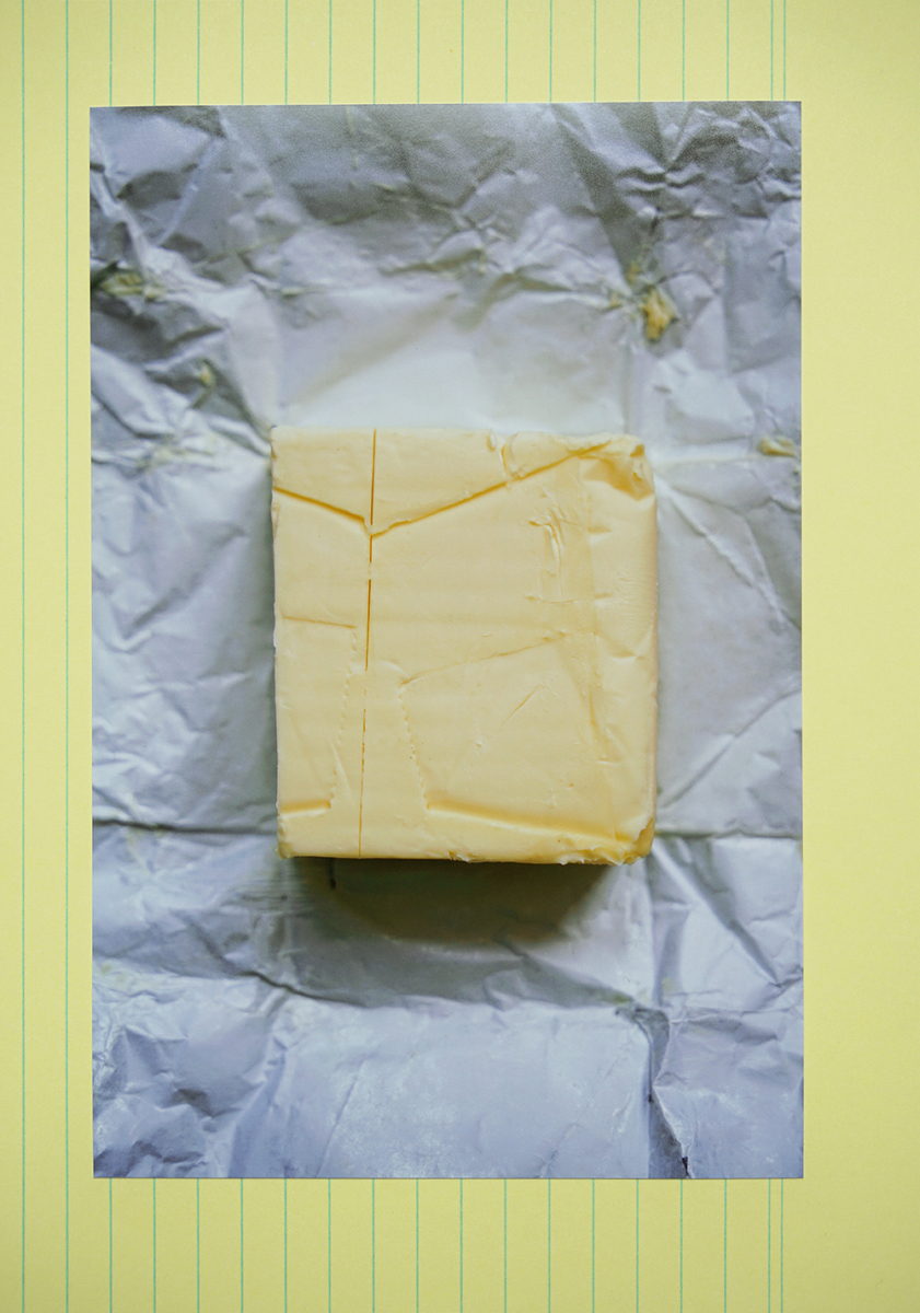 1 butter, 2020 (from the series 'Confinement in Berlin')