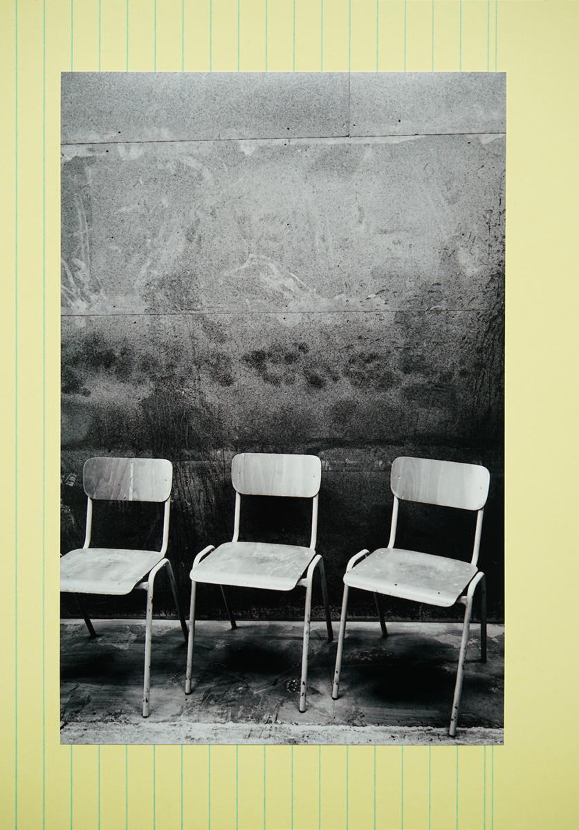 1 chairs, 2020 (from the series 'Confinement in Berlin')