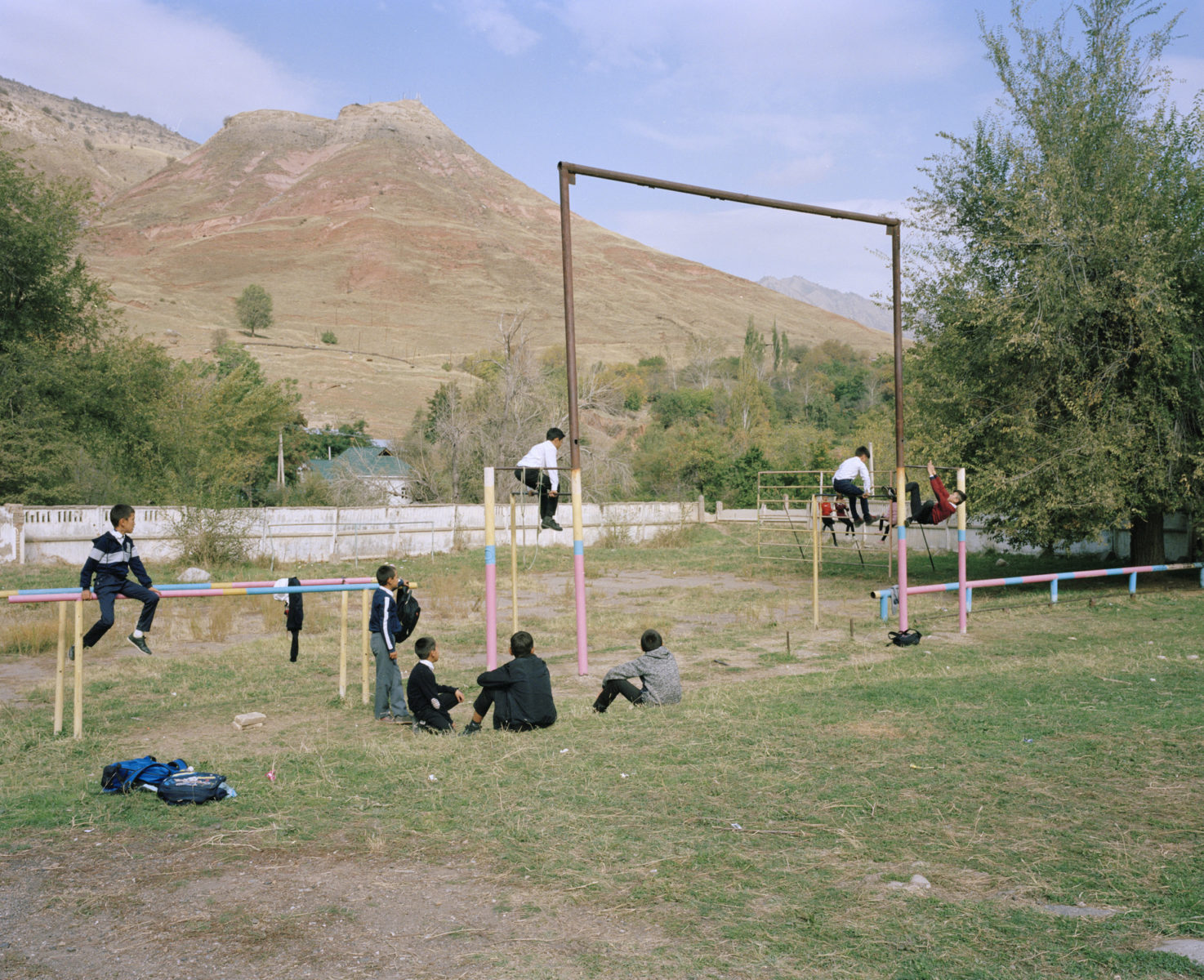 1 - Kids Playing, Sary-Bee, KGZ, 2019